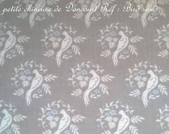 Tilda fabric Bird sand 50x55cm coupon