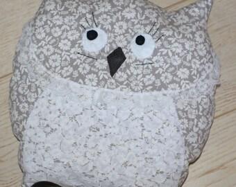 OWL pillow OWL lace