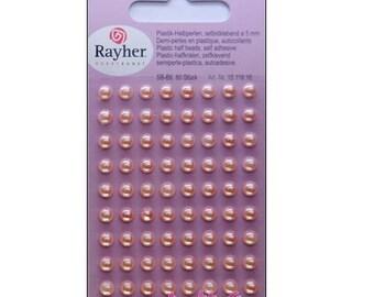 80 sticky jelly RAYHER pink embellishments scrapbooking *.