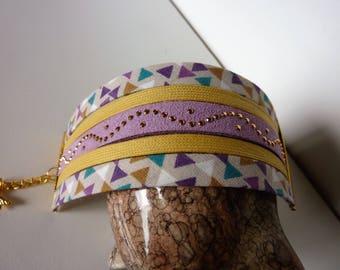 Cuff Bracelet Wax fabric