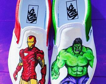 Iron Man vs. Hulk Vans*