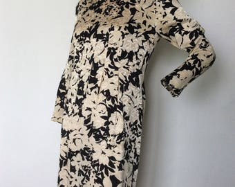 Pierre Balmain Paris Silk Coctail Dress