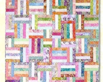 Quilt pattern by Atkinson Designs called Popsicle Sticks : popsicle sticks quilt pattern - Adamdwight.com
