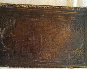 1836 Antique Holy Bible