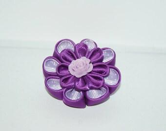 kanzashi - brooch + gift box