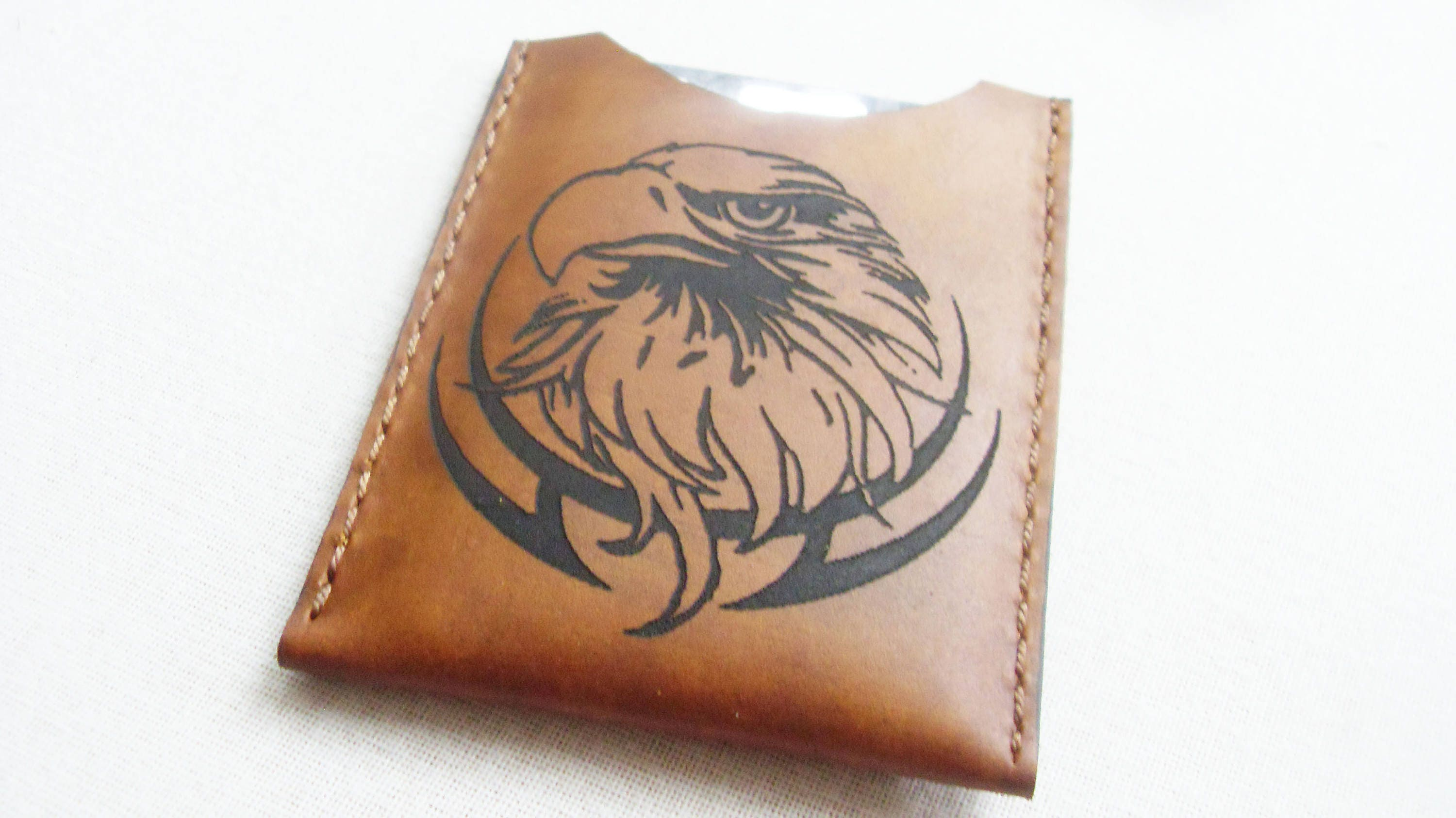 Leather wallet,Leather Card Holder, FREE MONOGRAM, Business card ...
