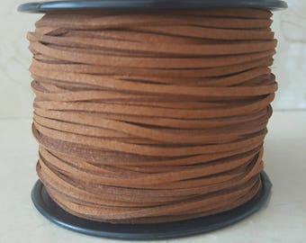 Set of 5 meters - strap suede 3mm cord
