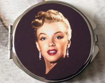 Bag Marilyn Monroe mirror with two mirrors inside