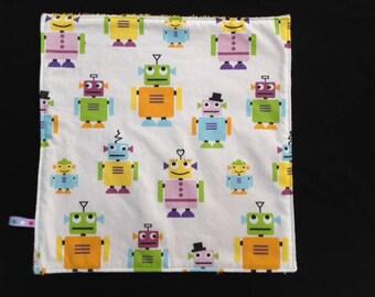 Napkin / taste for kindergarten - Robots