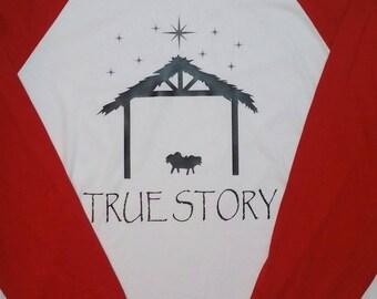Christmas Nativity Raglan