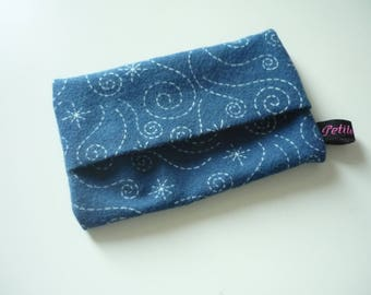 Soft Pouch for tissues - Flanelle fabric