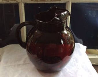 ROYAL RUBY PITCHER