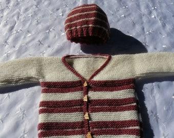 vest and hat set