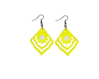 Neon - Sunset - earrings