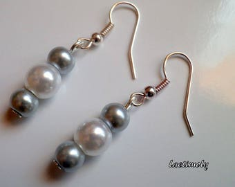fancy Pearl Silver earrings