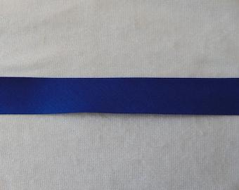 Bias, plain Navy, width 40/20 mm (P065)