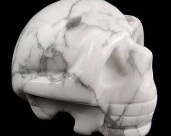 40mm Crystal Skull - howlite