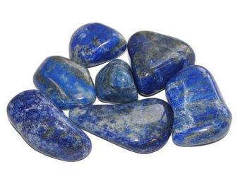 Rolled 2-3cm - grade A lapis lazuli stone