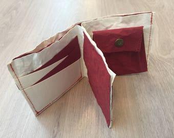 Washable kraft paper wallet 水洗牛皮紙銀包