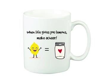 Make Achaar Mug