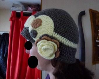 Retro crochet Hat