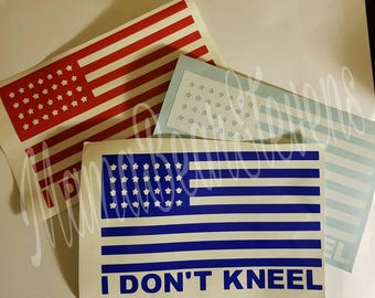 I don't kneel decal
