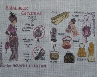 "Embroidery ""catalogue new collection"""