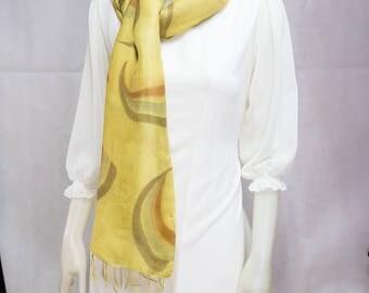 Natural Colored Batik(Silk Shawl)