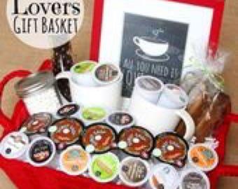 Coffee Lovers Dream Basket