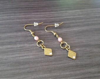 Diamond Rose earring