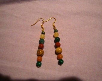A spring day earrings