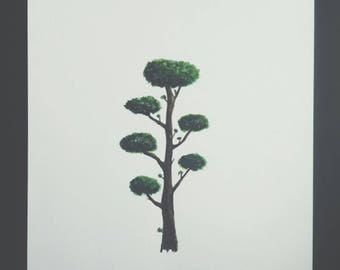 Small tree painting