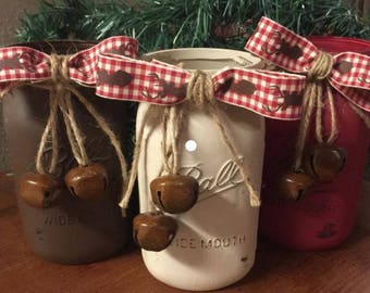 Christmas Mason Jar Decor
