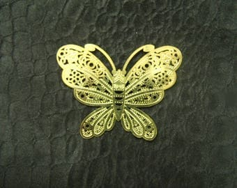 Acrylic BUTTERFLIES gold or silver