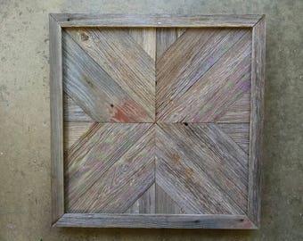 Barn board wall art