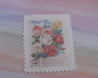 Transfer, image has sew bouquet of flowers, spring, Scripture