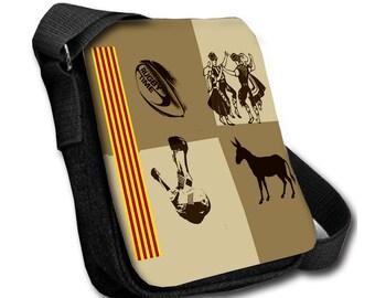 Shoulder bag handbag catalan canvas S
