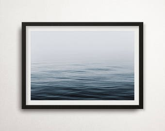 Sea Print, Nature Photography Print, Sea Poster, Ocean Poster, Seaside Photo, Scandinavian Art, Nature Wall Art, Interior Decor Art, Seaside