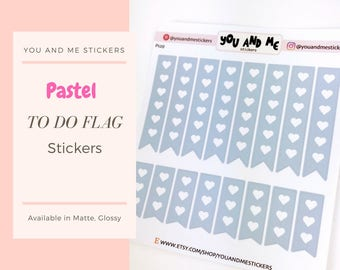 Pastel Stickers | Planner Stickers | To do Stickers | Checkout Stickers | Functional Stickers | ECLP | Erin Condren | Happy Planner | PS33