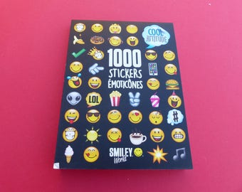 block of 1000 stickers emoticons, emoticons Smiley cool