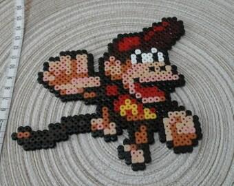 Diddy Kong. Donkey Kong Pixel art