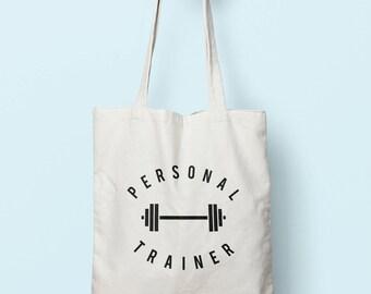 Personal Trainer Tote Bag Long Handles TB0070
