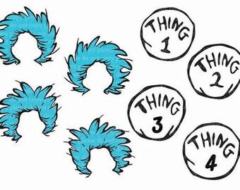 Thing 1  Etsy