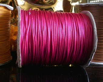 X 5 yards of cord 0.5 mm pink Bollywood