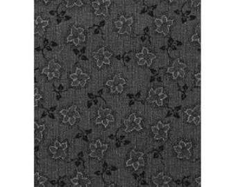 patchwork fabric gray ref 12011161 leaves
