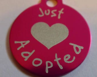 Engraved Pet Tag