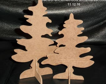 SET of two medium to decorate Christmas trees
