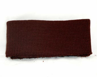 Belt edge side Brown jersey