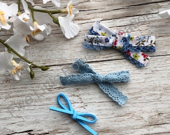 Bluevhairbow, hairbow, dainty headband, hairbow, baby headbands