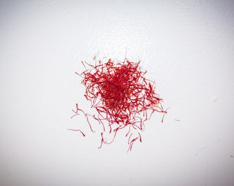 Highest Quality Saffron, Fresh and Local,  NEVER on Sale, 1 gram